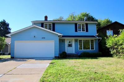 Richmond Heights Single Family Home For Sale: 4836 Geraldine Rd