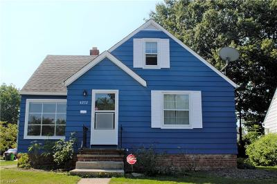 South Euclid Single Family Home For Sale: 4252 Stilmore Rd