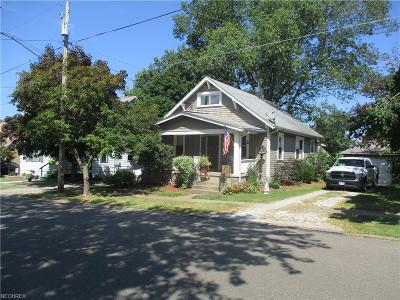 Single Family Home For Sale: 825 Brown St