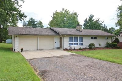 Zanesville Single Family Home For Sale: 462 Military Rd
