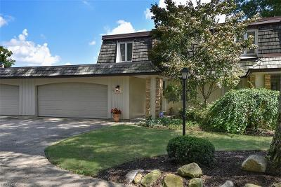 Geauga County Condo/Townhouse For Sale: 8564 Tanglewood Trl