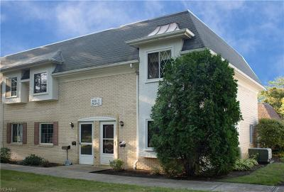 Mentor Condo/Townhouse For Sale: 8210 Deepwood Blvd #11-1