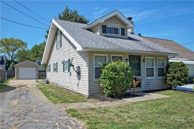 Eastlake Single Family Home For Sale: 1332 East 349th St