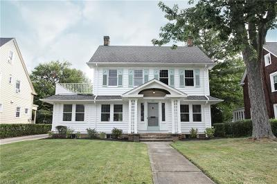 Shaker Heights Single Family Home For Sale: 3045 Warrington Rd