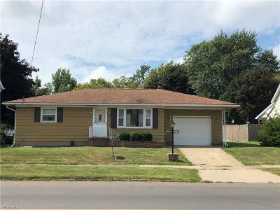 Conneaut Single Family Home For Sale: 869 Broad Street