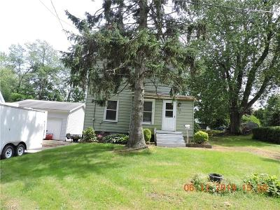 Conneaut Single Family Home For Sale: 153 Bridge Street