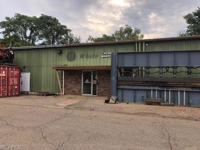 Zanesville Commercial For Sale: 850 Muskingum Ave