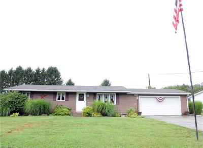 Zanesville Single Family Home For Sale: 125 Bryan Dr