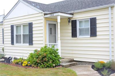 Cleveland OH Single Family Home For Sale: $115,000