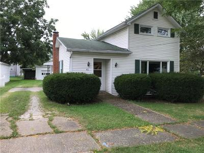 Huron County Single Family Home For Sale: 43 West Hooker St
