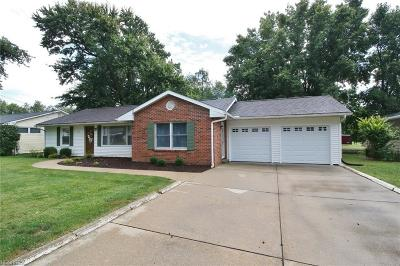 Zanesville Single Family Home For Sale: 996 Country Club Dr