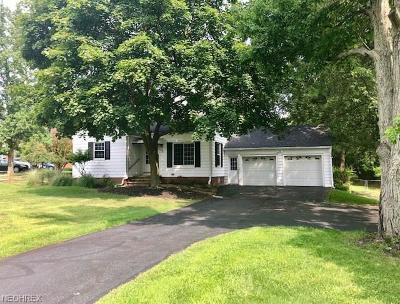 Broadview Heights Single Family Home For Sale: 1765 East Wallings Rd