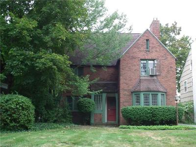 Shaker Heights Single Family Home For Sale: 18126 Lomond Blvd