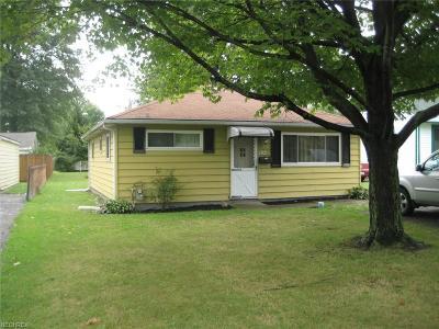 Mentor Single Family Home For Sale: 9246 Jordan Dr
