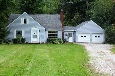 Geauga County Single Family Home For Sale: 9180 Cedar Rd