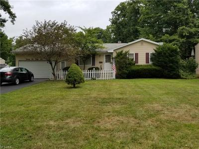 Youngstown Single Family Home For Sale: 2239 Woodland Trace Street
