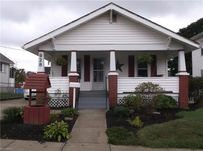 Zanesville Single Family Home For Sale: 928 Lindbergh Ave