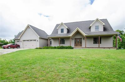 Ashland County Single Family Home For Sale: 2 State Route 511