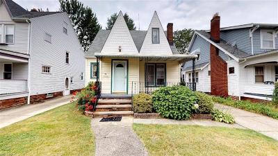 Cuyahoga County Single Family Home For Sale: 340 East 197th St