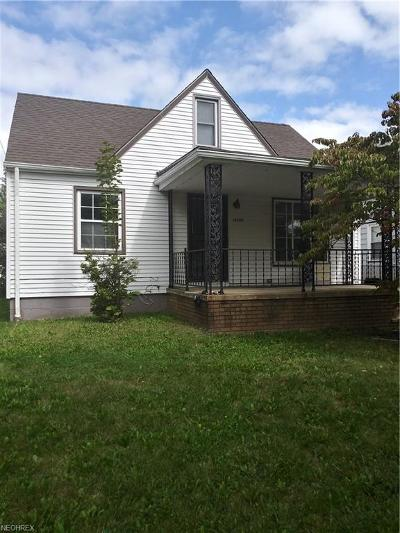 Maple Heights Single Family Home For Sale: 16205 Corkhill Rd