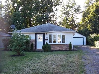 Mentor Single Family Home For Sale: 4816 Homewood Dr