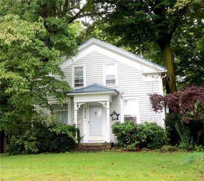 Middlefield Single Family Home For Sale: 8849 State Route 534