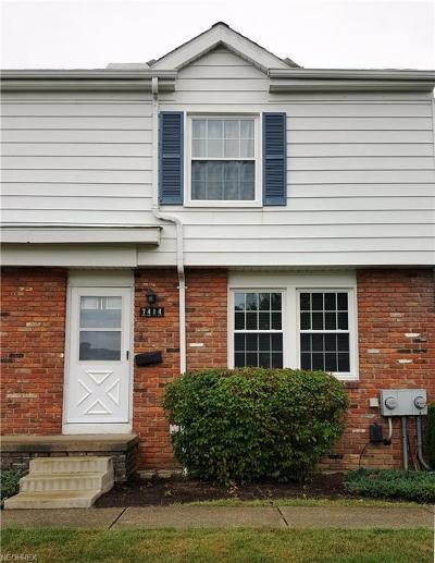 Mentor Condo/Townhouse For Sale: 7414 Yorktown Ct