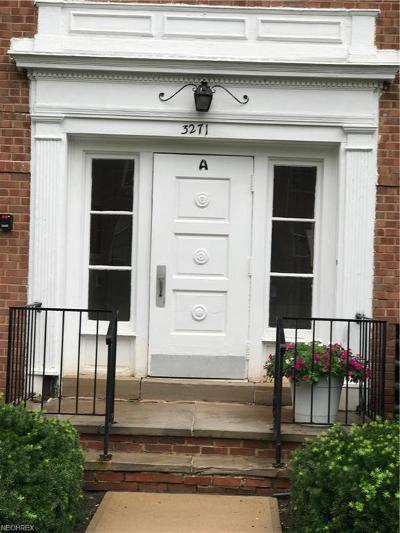 Shaker Heights Condo/Townhouse For Sale: 3271 Warrensville Center Rd #4A