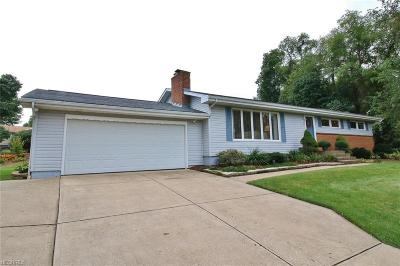 Zanesville Single Family Home For Sale: 3870 Valley View Rd