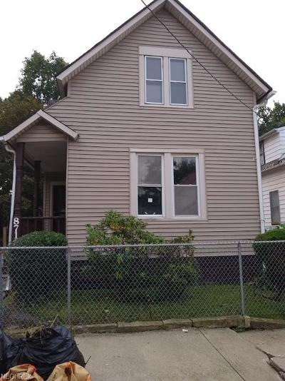 Cleveland Single Family Home For Auction: 8712 Frederick Ave
