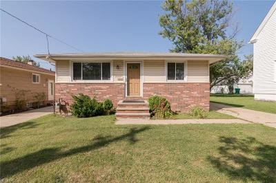 Maple Heights Single Family Home For Sale: 15025 Rockside Rd