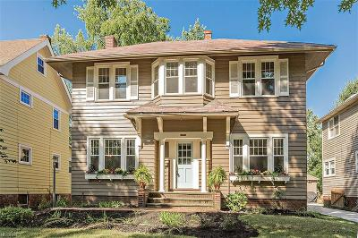 Cleveland Heights Single Family Home For Sale: 2548 Kingston Rd