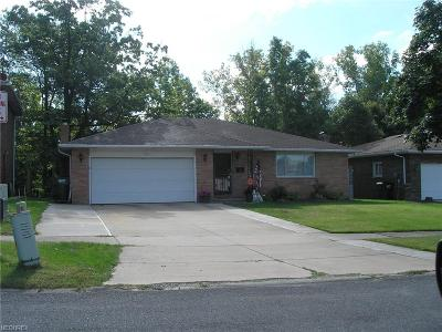Garfield Heights Single Family Home For Sale: 6525 Brookhill