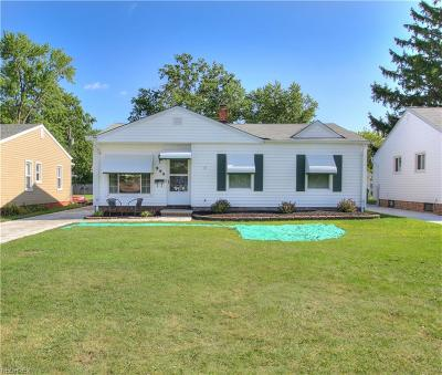 Willowick Single Family Home For Sale: 299 East 305th St