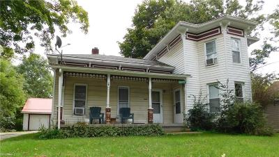 Geauga County Multi Family Home For Sale: 16169 McCall Rd