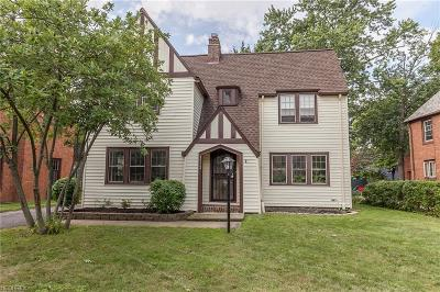 Shaker Heights Single Family Home For Sale: 3112 Ludlow Rd