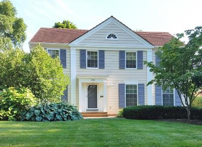 Shaker Heights Single Family Home For Sale: 22576 Douglas Rd