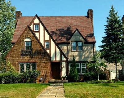 Shaker Heights Single Family Home For Sale: 15719 Chadbourne Rd
