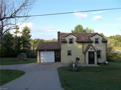 Geauga County Single Family Home For Sale: 11694 Portlew Rd