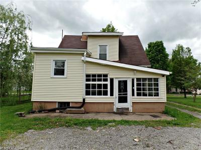 Hubbard Single Family Home For Sale: 111 Charles St