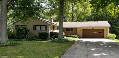 Copley Single Family Home For Sale: 1097 Oak Tree Rd