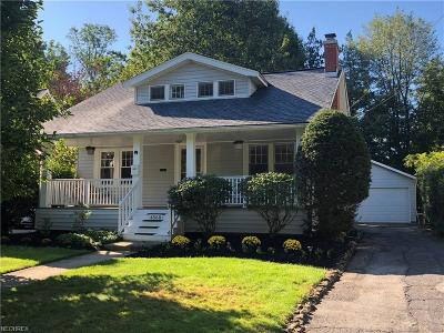 South Euclid Single Family Home For Sale: 4560 East Berwald Rd