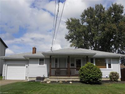 Struthers Single Family Home For Sale: 463 Como St