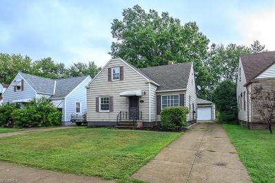 Cuyahoga County Single Family Home For Sale: 463 East 272nd St