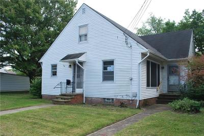 South Euclid Single Family Home For Sale: 1807 Warrensville Center Rd