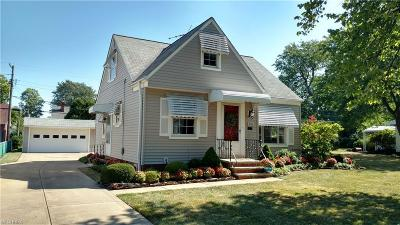 Willowick Single Family Home For Sale: 305 East 326 St