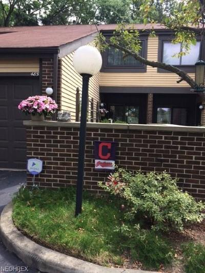 Richmond Heights Condo/Townhouse For Sale: 485 Forsythia Ln
