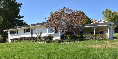 Zanesville Single Family Home For Sale: 165 Chapel Hill Rd