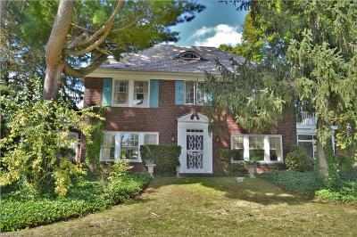 Shaker Heights Single Family Home For Sale: 20101 Malvern Rd