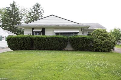 Hubbard Single Family Home For Sale: 645 Burdie Dr